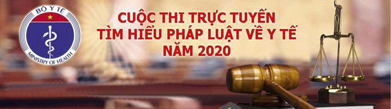 Cuộc thi tìm hiểu pháp luật y tế năm 2020